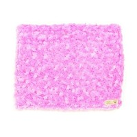 Plush Blanket — Curly Sue Perfect Pink