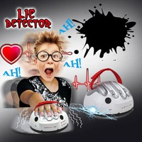 Adjustable Lie Detector Reloaded Polygraph Electric Shocking Liar Warm-Up Game