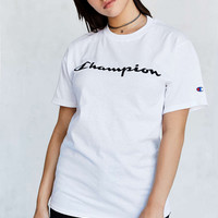 Champion Logo Tee - Urban Outfitters