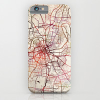 Nashville Tennessee Map iPhone, iPod, Samsung Galaxy, HTC iphone case