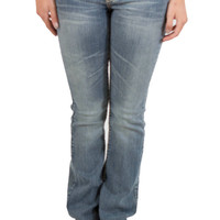 LA Idol Bootcut Jeans Light Denim with with Bling Pocket