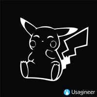 POKEMON PIKACHU GAME DECAL STICKER