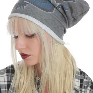 Licensed cool How to Train Your Dragon 2 movie TOOTHLESS Adult Ladies THIN Beanie Hat Ski Cap