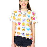 EMOJIS ALL OVER TEE