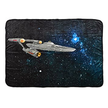 Star Trek Enterprise Starship Fleece