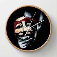 You Can't See Me Wall Clock by RooDesign