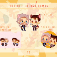 [Preorder] [Standee&Badge] Detroit; Become Human