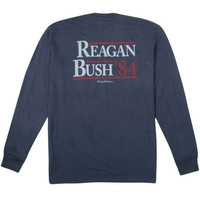 Reagan Bush '84 L/S Pocket Tee