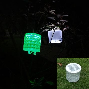 Inflatable Solar Light Rechargeable Waterproof Solar LED Lantern Lights For Camping Hiking Biking Survival Emergency Lamp