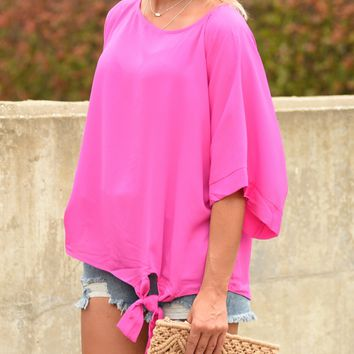 A Day Of Fun Top - Pink