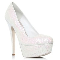 White Ramona High Heel Shoes