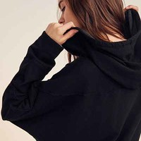 Project Social T Extreme Dolman Sleeve Sweatshirt Dress - Urban Outfitters