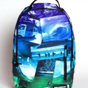 Sprayground Jack English Surf Deluxe Backpack Backpacks