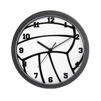 Volleyball Wall Clock on CafePress.com