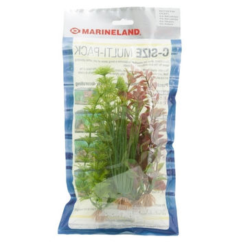 Marineland 4-Pack Multi Pack C1 Plant Assortment for Aquarium