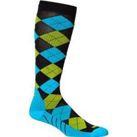 Zensah Argyle Compression Socks - Best Compression Socks for Running, Travel, Working Out - Improve Circulation - Help Treat Shin Splints - Running Compression Socks