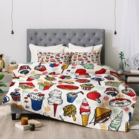 Food Fair Comforter Raven Jumpo