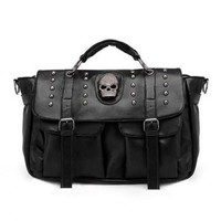 Skull Design Women's Tote Bag<br>FREE SHIPPING !!!