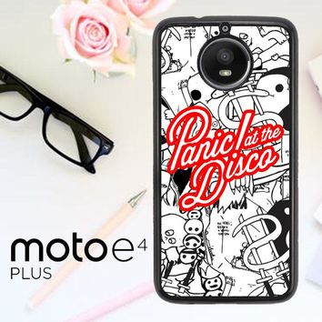 Panic At The Disco W4211 Motorola Moto E4 Plus Case