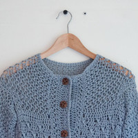 Cardigan crochet pattern