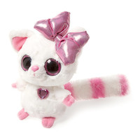 YooHoo & Friends Plush Pammee the Fennec Fox with Pink Bow - 7