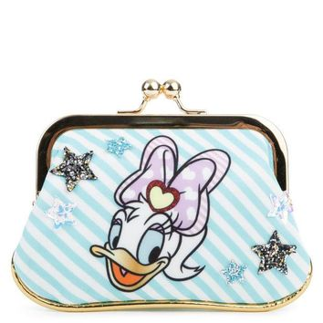 LMF8UH Irregular Choice Mickey Mouse & Friends Collection Women's So Pretty Mint Coin Purse