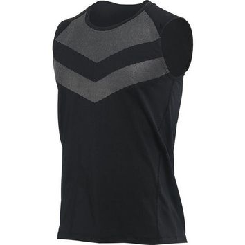 Running Vests Jogging Mens  Compress Sleeveless T Shirt Spandex Fitness Athletic Gym Running Sports Shirts Basketball Gym Tank Tops KO_11_1