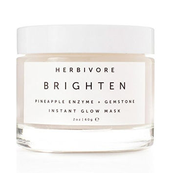 Herbivore Botanicals - Organic Brighten Pineapple + Gemstone Mask