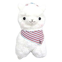 "Llama Sailor Alpaca 7"" Prime Plush (White)"