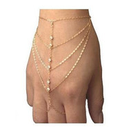 Diamond Princess Hand Chain