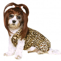 Cave Woman Dog Costume