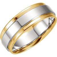 Unisex 7.5mm Wedding Band