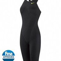 Nike Swim NG-1 Neck to Knee Tech Suit Swimsuit at SwimOutlet.com - Free Shipping