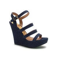Open Toed Wedges