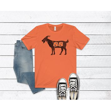Lindros GOAT Inspired Unisex Jersey Short Sleeve Tee