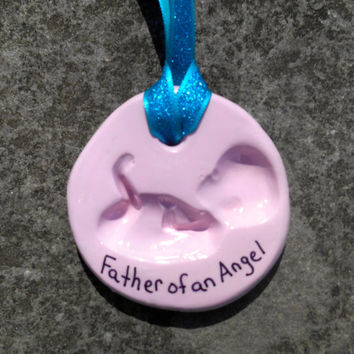 Pregnancy Ornament,Baby Announcement Ornament,Clay Baby Shower Ornament, New Mother Baby Gift, Polymer Clay Baby Ornament, Expectant Mother