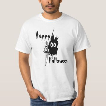 Monster Eyes Happy Halloween funny customizable T-Shirt