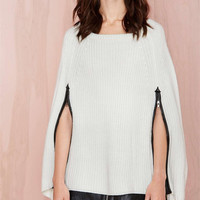 Sanna Cape Sweater