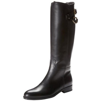 678ab003e74 Cordani Womens Leather Buckle Riding Boots