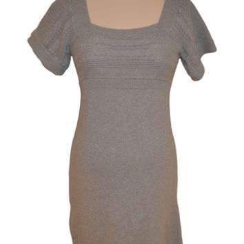 Gray Short Sleeve Dress by Old Navy