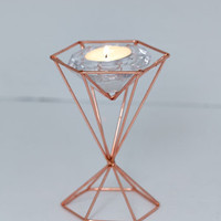 Boho Tealight Up My Life Votive Candle Holder by ModCloth