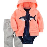 3-Piece Neon Little Jacket Set