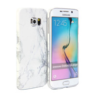 Snap Cover Glossy (Marble Pattern) for Samsung Galaxy S6 Edge