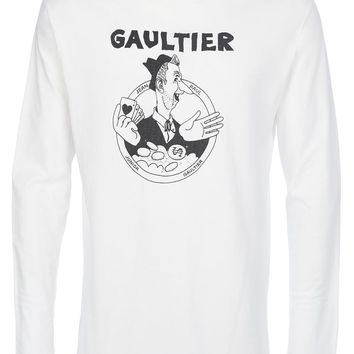 Jean Paul Gaultier Vintage printed long sleeve t-shirt