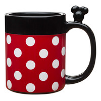 Disney Treasure Craft Minnie Mouse Sculpted 17 oz. Porcelain Mug