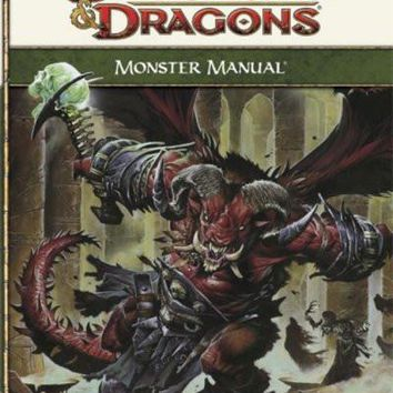 Monster Manual: Roleplaying Game Core Rules (Dungeons and Dragons Core Rules)