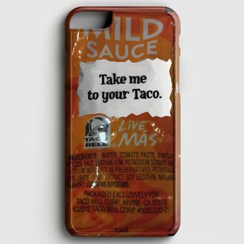 Taco Bell Take Me To Your Taco iPhone 6 Plus/6S Plus Case | casescraft