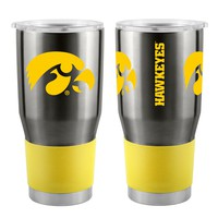 Iowa State Hawkeyes 30 oz Double Wall Insulated Stainless Steel Travel Tumbler - Ultra Tumbler by Boelter Brands