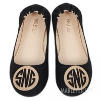 Monogrammed Flats | Marleylilly