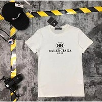 Women Men Balenciaga T-shirt Top Blouse
